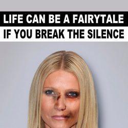 Gwyneth Paltrow imagen de la campaña #Breakthesilence 2015