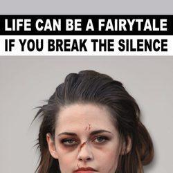 Kristen Stewart imagen de la campaña #Breakthesilence 2015