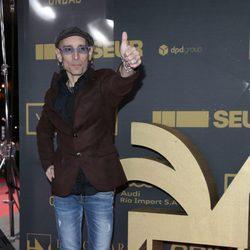 Fito Cabrales en los premios Ondas 2015