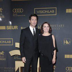 Jaime Cantizano y Pepa Bueno en los premios Ondas 2015
