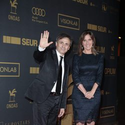 José Mota y Ana Blanco en los premios Ondas 2015