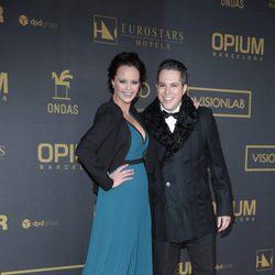 Shaila Dúrcal y su marido Dorio Ferreira en los premios Ondas 2015
