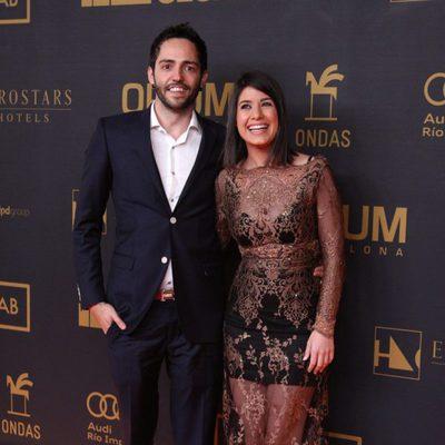 David Guapo y Ares Teixidó en los premios Ondas 2015