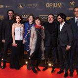 El elenco del 'Ministerio del Tiempo' en los premios Ondas 2015
