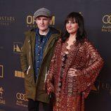 Eva Amaral y Juan Aguirre en los premios Ondas 2015