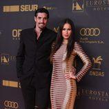 Felipe López y Mireia Canalda en los premios Ondas 2015