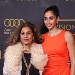Lolita y Alba Flores en los premios Ondas 2015
