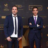 Raúl Pérez y David Broncado en los premios Ondas 2015