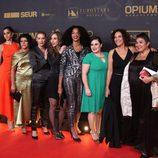 El elenco de 'Vis a Vis' en los premios Ondas 2015