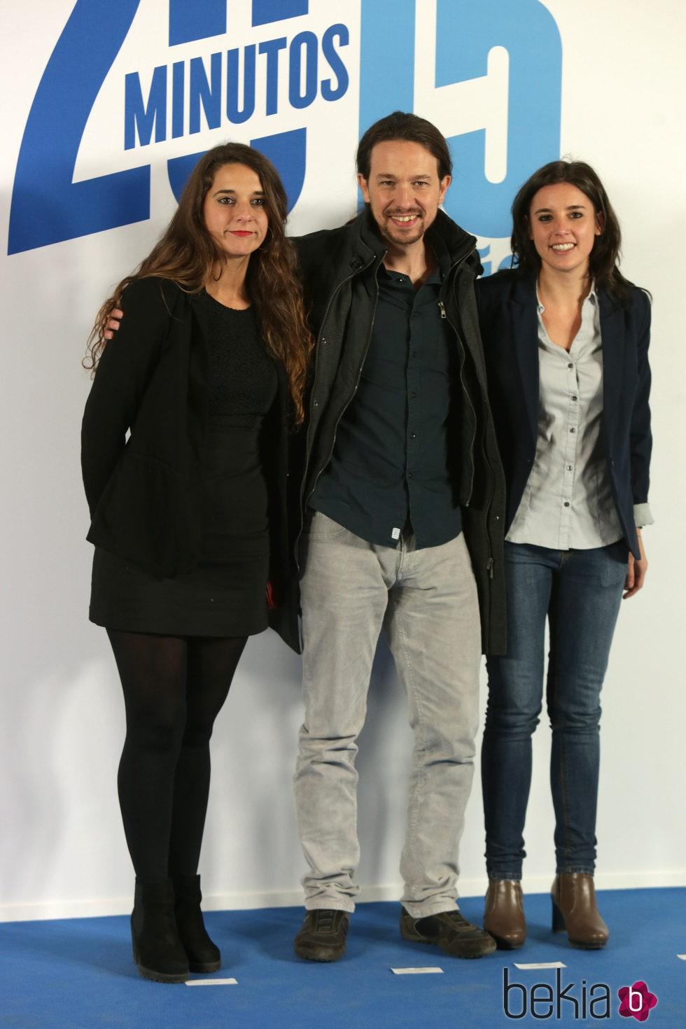 Pablo Iglesias en el 15 aniversario de 20 MInutos