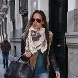 Eva González vuelve a Madrid tras su luna de miel con Cayetano Rivera