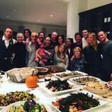 Gwyneth Paltrow y su ex, Chris Martin, reunidos por Acción de Gracias 2015