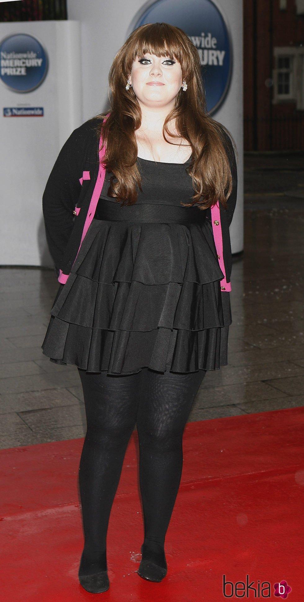 Adele en los Mercury Music Awards 2009