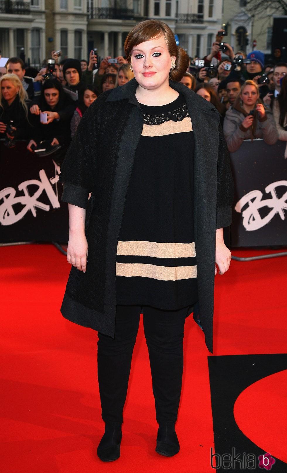 Adele en los Premios Brit 2008