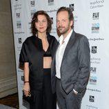 Maggie Gyllenhaal y Peter Sarsgaard en los Premios Gotham 2015