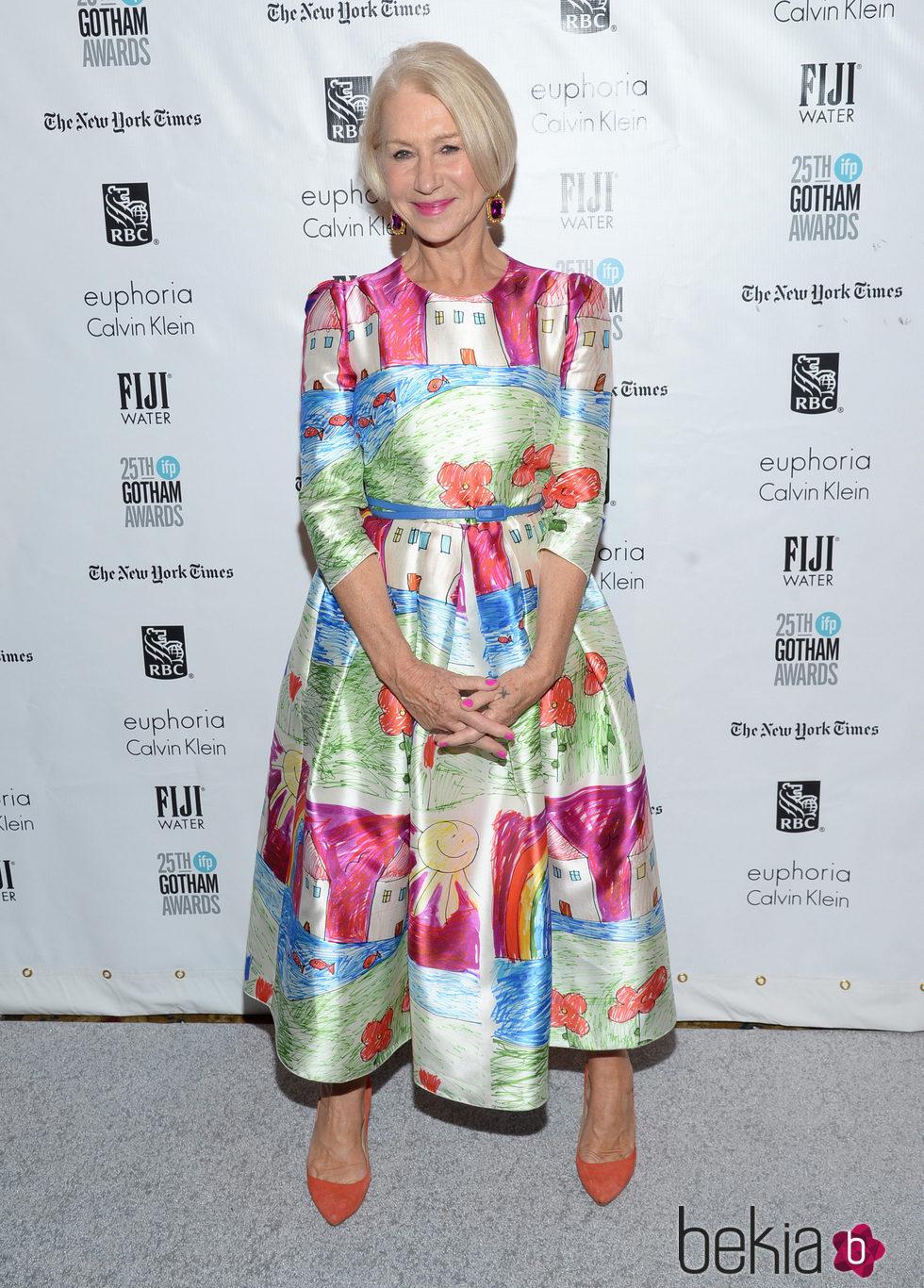 Helen Mirren en los Premios Gotham 2015