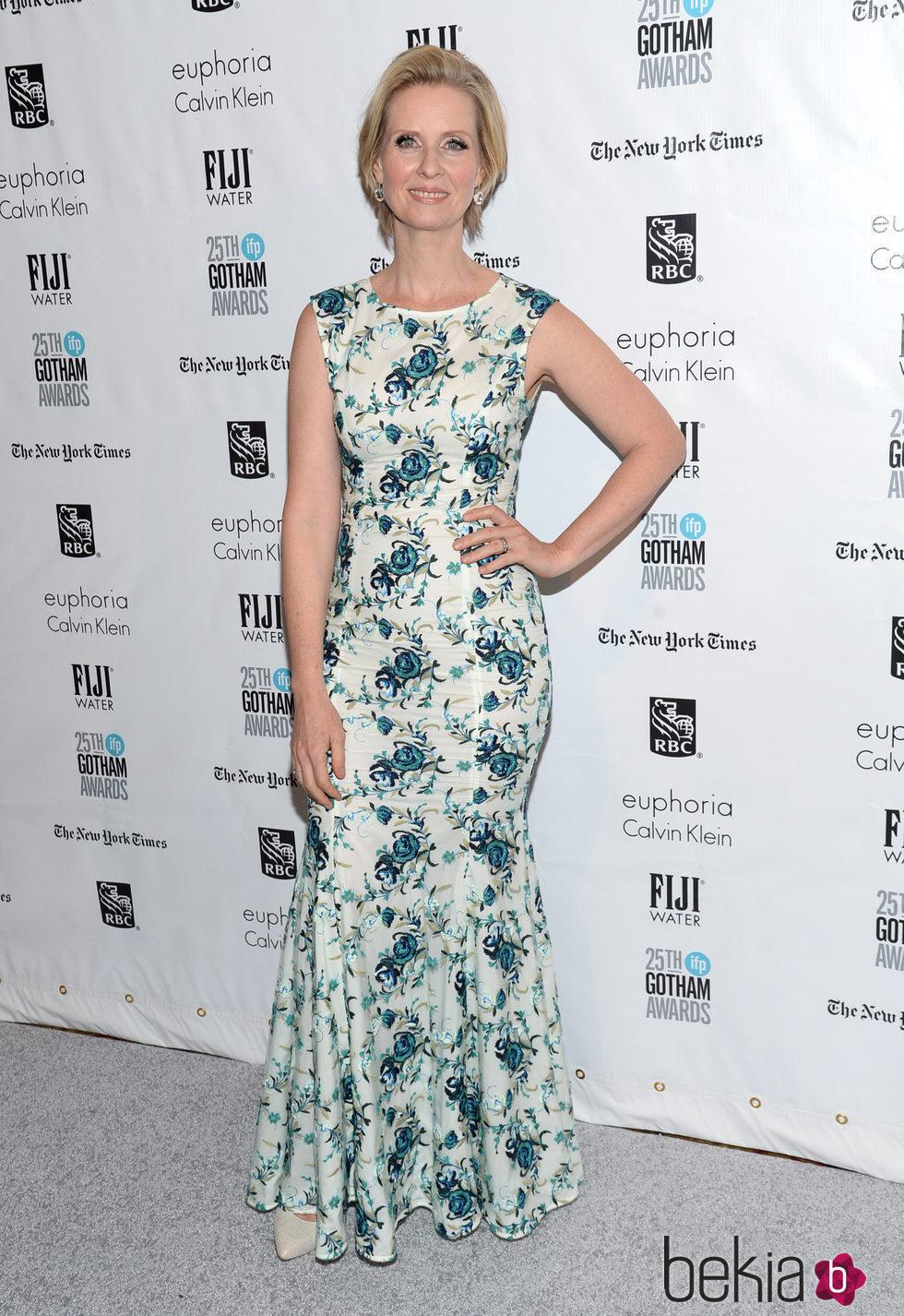 Cynthia Nixon en los Premios Gotham 2015
