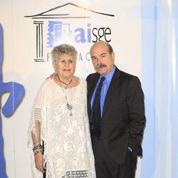 Pilar Bardem y Antonio Resines en los Premios Actúa 2015
