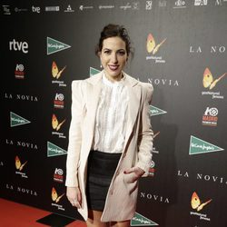 Alicia Rubio en el estreno de 'La novia'