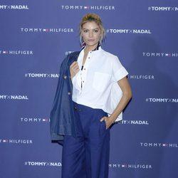 Cristina Tosio en el partido de tenis de Tommy Hilfiger