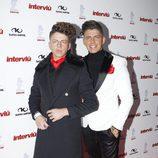 Christopher y Rafa Mateo en la gala Chica Interviú 2015