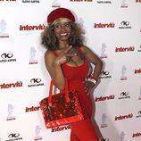Regina Do Santos en la gala Chica Interviú 2015
