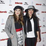 Anabel Dueñas y Mercedes Durán en la gala Chica Interviú 2015