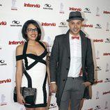 Lucía y Omar de 'Gran Hermano' en la gala Chica Interviú 2015