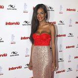 Liz Emiliano de 'Gran Hermano' en la gala Chica Interviú 2015