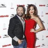 Rafael Amargo y Amor Romeira en la gala Chica Interviú 2015