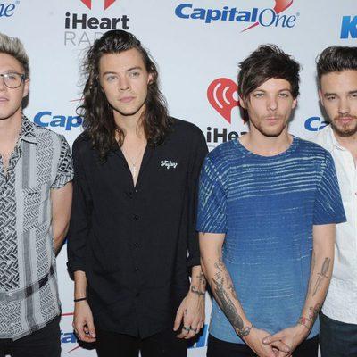Los chicos de One Direction en el Jingle Ball Tour 2015 en Los Angeles