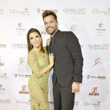 Eva Longoria y Ricky Martin en la Global Gift Gala 2015 de Miami