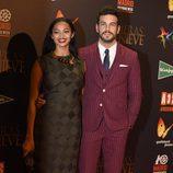 Berta Vázquez y Mario Casas en el estreno de 'Palmeras en la Nieve'