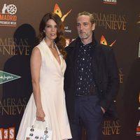 Juana Acosta y Ernesto Alterio en el estreno de 'Palmeras en la Nieve'
