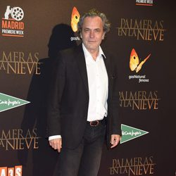 José Coronado en el estreno de 'Palmeras en la Nieve'