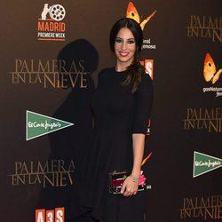 Almudena Cid en el estreno de 'Palmeras en la Nieve'