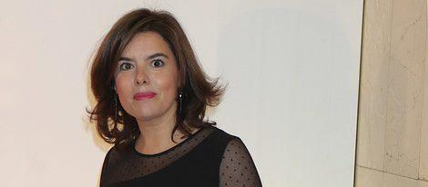 Soraya Sáenz de Santamaría en los Premios Mariano de Cavia 2015