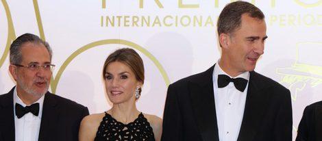 Los Reyes Felipe y Letizia en los Premios Mariano de Cavia 2015
