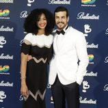 Mario Casas y Berta Vázquez en los Premios 40 Principales 2015