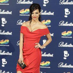 Elisa Mouliaá en los Premios 40 Principales 2015