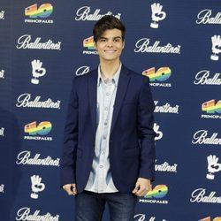 Abraham Mateo en los Premios 40 Principales 2015
