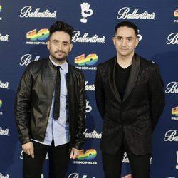 Carlos y Juan Antonio Bayona en los Premios 40 Principales 2015