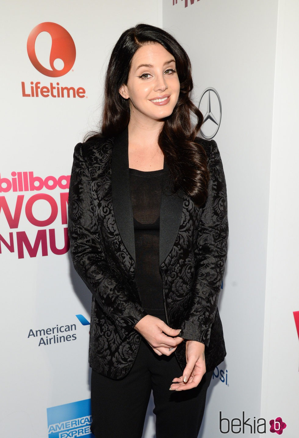 Lana del Rey en los premios Billboard Women in Music 2015