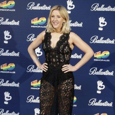 Ellie Goulding en los Premios 40 Principales 2015