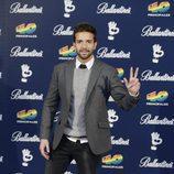 Pablo Alborán en los Premios 40 Principales 2015