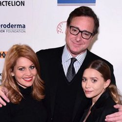 Candace Cameron, Bob Saget y Ashley Olsen