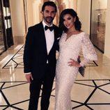 Eva Longoria y su novio José Antonio Baston en la gala Global Gift en Dubai