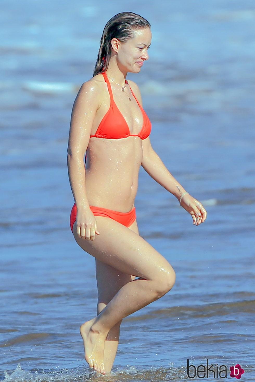 Olivia Wilde presume de tipazo en Hawai