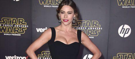 Sofía Vergara en la premiere de 'Star Wars: El Despertar de la Fuerza' en Los Ángeles