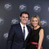 Albert Rivera y Beatriz Tajuelo en la entrega del Premio Planeta 2015